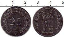 Изображение Монеты Германия Ангальт 25 пфеннигов 1924 Железо XF