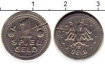 Изображение Монеты Германия Жетон 0 Медно-никель XF Игровой жетон в 1 пф
