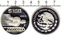 Изображение Монеты Мексика 100 песо 1986 Серебро Proof