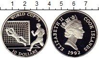 Изображение Монеты Острова Кука 10 долларов 1992 Серебро Proof