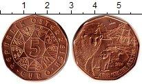 Изображение Монеты Австрия 5 евро 2014 Медь UNC