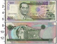 Изображение Банкноты Филиппины 200 писо 2004  UNC