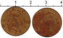 Изображение Монеты Норвегия Жетон 0 Латунь XF-