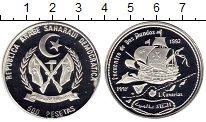 Изображение Монеты Сахара 500 песет 1992 Серебро Proof-