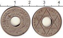 Изображение Монеты Западная Африка 1/10 пенни 1944 Медно-никель XF