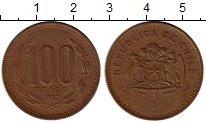 Изображение Монеты Южная Америка Чили 100 песо 1997 Бронза XF