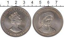 Изображение Монеты Тристан-да-Кунья 50 пенсов 2000 Медно-никель UNC-