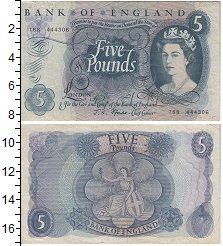 Изображение Банкноты Великобритания 5 фунтов 1963  XF