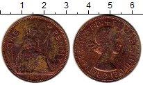 Изображение Монеты Европа Великобритания 1 пенни 1967 Бронза XF