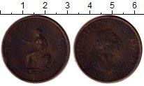 Изображение Монеты Европа Великобритания 1/2 пенни 1799 Медь VF