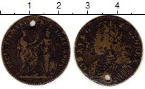 Изображение Монеты Франция Жетон 0 Медь VF