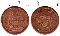 Изображение Монеты Куба 1 сентаво 2000 Бронза XF