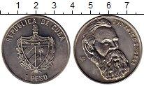 Изображение Монеты Северная Америка Куба 1 песо 2002 Медно-никель UNC-