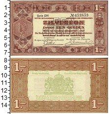 Изображение Банкноты Европа Нидерланды 1 гульден 1938  UNC-