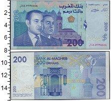 Изображение Банкноты Африка Марокко 200 дирхам 2002  UNC