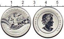 Изображение Монеты Северная Америка Канада 20 долларов 2015 Серебро Proof-
