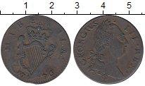 Изображение Монеты Ирландия 1 фартинг 1776 Медь XF Георг III