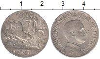 Изображение Монеты Италия 1 лира 1913 Серебро XF-