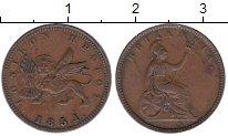 Изображение Монеты Греция Ионические острова 1 лептон 1851 Медь XF