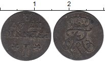 Изображение Монеты Пруссия 1 пфенниг 1797 Серебро VF