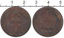 Изображение Монеты Камерун 1 франк 1943 Бронза VF