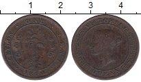 Изображение Монеты Цейлон 1 цент 1870 Медь VF Виктория