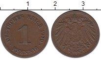 Изображение Монеты Европа Германия 1 пфенниг 1900 Медь XF