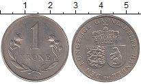 Изображение Монеты Гренландия 1 крона 1960 Медно-никель XF