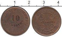 Изображение Монеты Колумбия 10 сентаво 1901 Медь XF