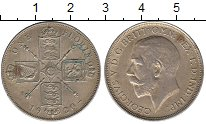 Изображение Монеты Европа Великобритания 1 флорин 1920 Серебро XF