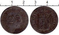 Изображение Монеты Германия Анхальт 25 пфеннигов 1921 Железо VF