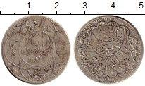Изображение Монеты Азия Йемен 1/4 риала 1940 Серебро XF