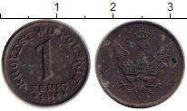 Изображение Монеты Европа Польша 1 пфенниг 1918 Железо XF