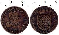 Изображение Монеты Европа Франция 2 лиарда 1613 Медь XF-