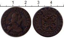 Изображение Монеты Европа Франция 2 лиарда 1614 Медь XF-