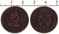 Изображение Монеты Европа Франция 2 лиарда 1609 Медь XF