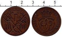 Изображение Монеты Дания Датская Индия 2 цента 1905 Бронза XF