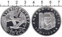 Изображение Монеты Европа Швеция 20 экю 1997 Серебро Proof