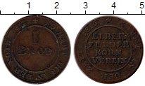 Изображение Монеты Европа Германия 1 брод 1816 Медь XF