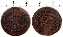 Изображение Монеты Испания 1 сейсино 1648 Медь XF- Каталония. Французск