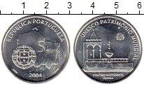 Изображение Монеты Европа Португалия 5 евро 2004 Серебро UNC