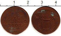 Изображение Монеты Германия Шаумбург-Гессен 1 пфенниг 1807 Серебро VF