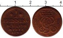 Изображение Монеты Ганновер 1 пфенниг 1742 Медь VF