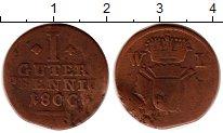 Изображение Монеты Германия Шаумбург-Гессен 1 пфенниг 1800 Медь VF