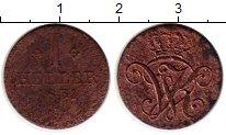 Изображение Монеты Гессен-Кассель 1 геллер 1831 Медь VF