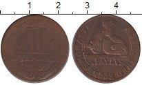 Изображение Монеты Германия Мюнстер 3 пфеннига 1739 Медь VF+