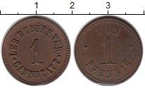 Изображение Монеты Германия 1 пфенниг 0 Медь XF