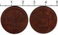 Изображение Монеты Бавария 1 крейцер 1865 Медь XF-