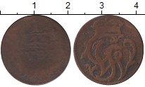 Изображение Монеты Германия Вайд-Рункель 1/4 стюбера 1758 Медь VF