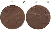 Изображение Монеты Росток 3 пфеннига 1761 Медь F